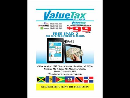 VALUE TAX TIP 1