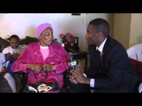 100 Year Old Great-Grandmother Talks Dicks with Reporter