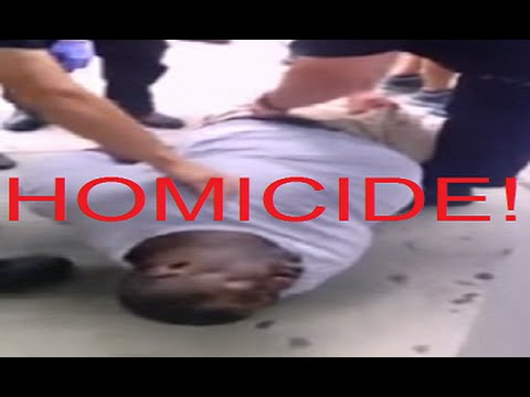 Eric Garners Death Ruled A Homicide So Should The NYPD Now Be Charged With Murder