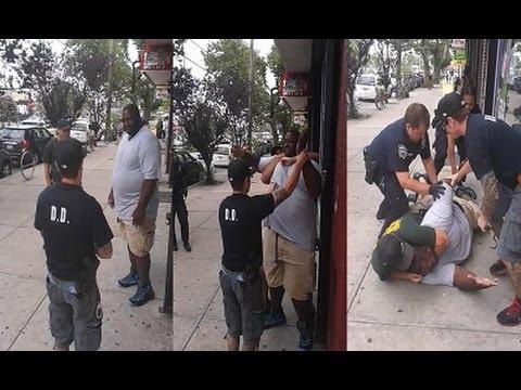 Staten Island Cops Murder Eric Garner An Unarmed Black US Citizen For Breaking Up A Fight!