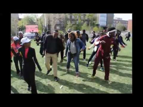 PENN RELAYS: ONE HOP TWO HOP SKULLY HOP DANCE AT PENN RELAYS