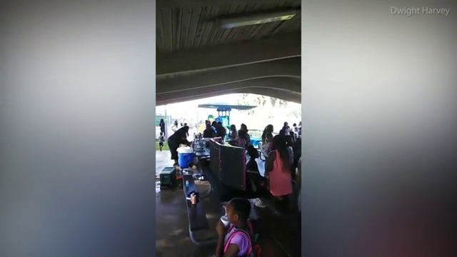 Gunshots rang out during 'Peace in the City' back-to-school event
