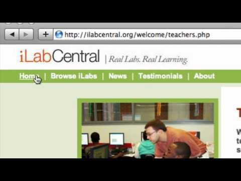 Using the iLabCentral resource - Technical glossary