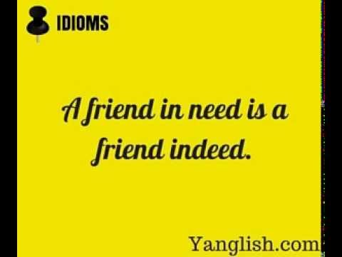 Most used idioms