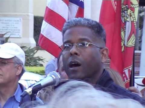 Allen West at On Guard Rally 12/30/09
