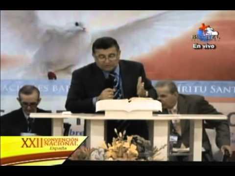Llegó la hora de ser llenos del Espiritu Santo, Rev. Romulo Vergara. XXII Convencion MMM Espana
