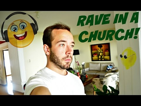 LEMON, SALT & A RAVE IN A CHURCH?!