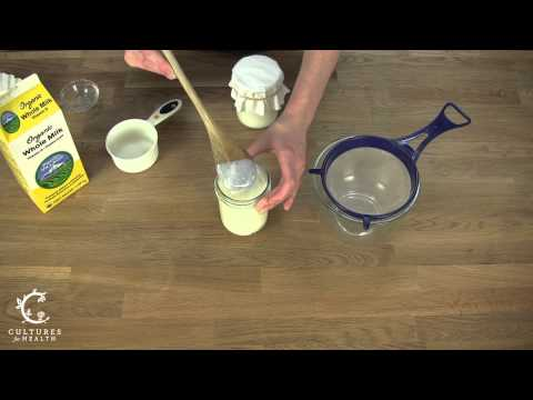 How to Make Milk Kefir