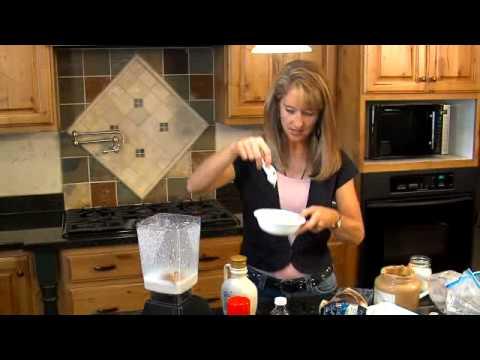 Making raw ice cream