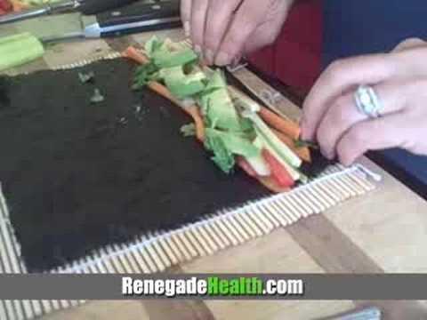 Raw Nori Sushi Rolls #92