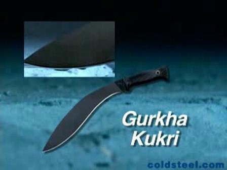 Cold Steel Gurkha Kukri (coldsteel.com)