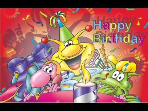 ♥ happy birthday in salsa music ♥