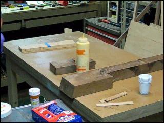 Quict Tip-Sawdust & Glue Filler
