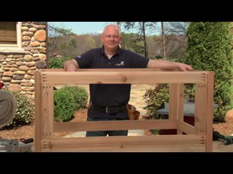 How to Build a Deck Storage Box Part 1: Deck Box Frame Assembly