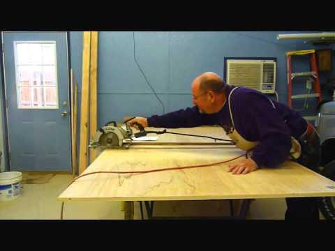 Cutting 4x8 Plywood.WMV
