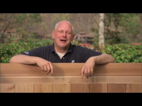 How to Build a Deck Storage Box Part 3: Attaching Dual Lids and Staining