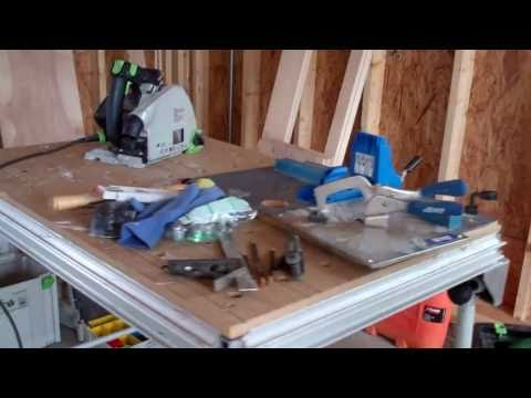 Making Built-Ins Part 5  My Portable shop set up