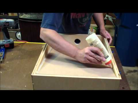 Making a Bench Top Downdraft / Sander Table