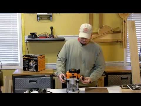Chief's Shop Quick Look: Triton MOF001 2hp Plunge Router