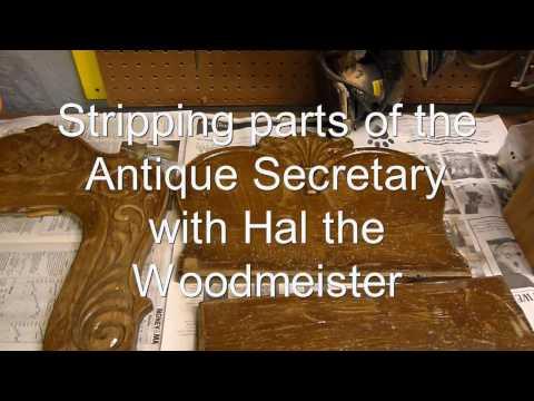 Secretary Refinish Part I.wmv