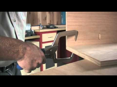 Right Angle Clamp : 90 Degree Kreg Joints Made Easy!