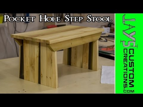 Pocket-Hole Step Stool #2