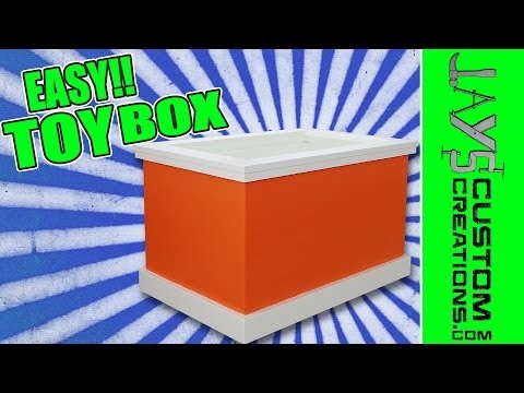 A Toy Box That Anyone Can Make!