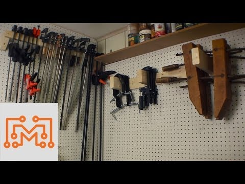 How to Make 3 Simple Types of Clamp Storage