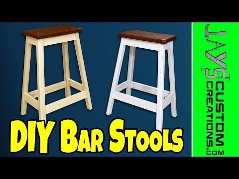 Easy DIY Pocket Hole Bar Stool