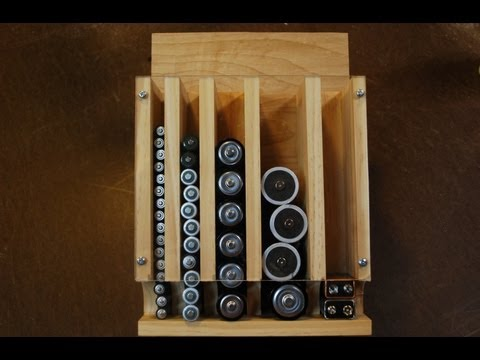 Making a Battery Organizer