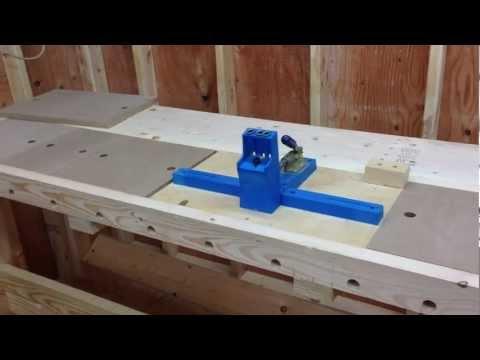 New Fangled Workbench Build