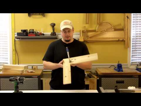 Chief's Shop Beginner Tip: Pocket Hole Assembly Clamping - Face Frames