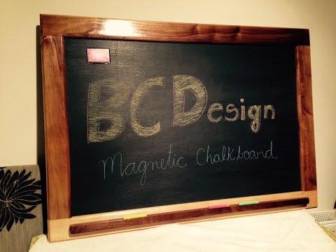 Magnetic Blackboard