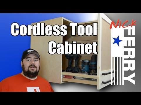 How to Make a Pull-Out Tool Cabinet