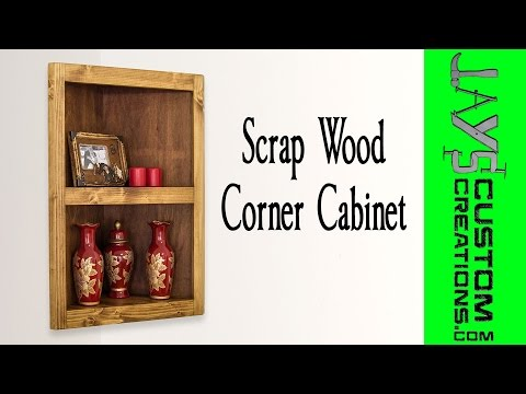 Pocket-Hole Corner Cabinet