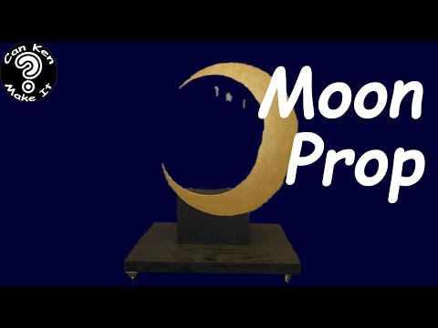 Make this Rolling Moon Prop for Musical Number. You know you want to.