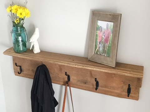How to Build a Farmhouse Coat Rack