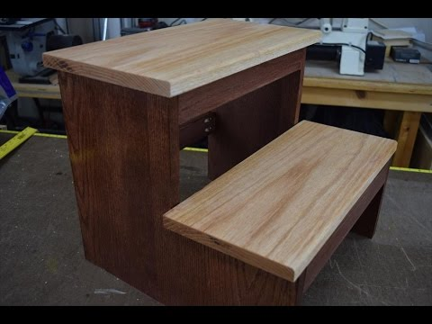 How to Make a Step Stool