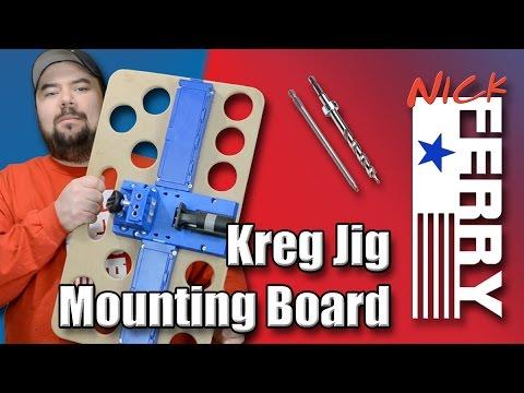 Ⓕ Kreg Jig® Mounting Board