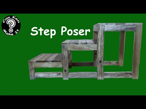 Make a Collapsible Step Poser for Photography