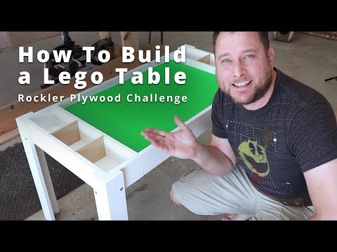 How to Build a Lego Table DIY Project | Woodworking