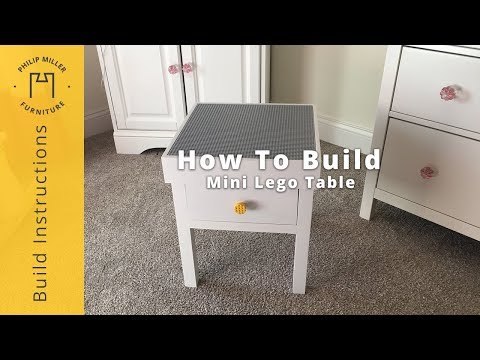 How to Build a Mini Lego Table Using a Kreg Jig R3 Kit