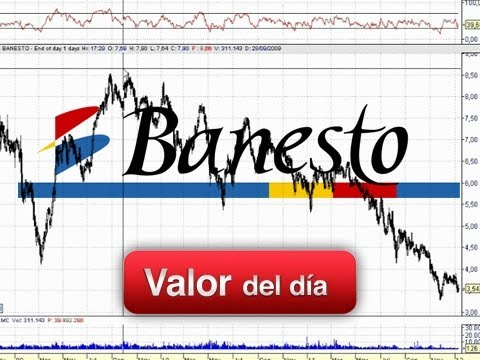 Análisis técnico de Banesto por Juan Enrique Cardiñanos en Estrategias TV (12-01-12)