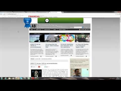 Video Analisis con Javier Alfayate: Ibex, DAX, Amadeus, BBVA, Texas Instruments, Henkel y Mylan 20-12-12