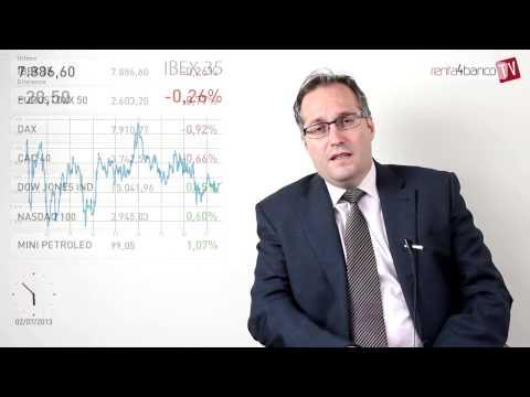 Análisis del cierre de sesión de bolsas y mercados financieros 02-07-13 Renta 4