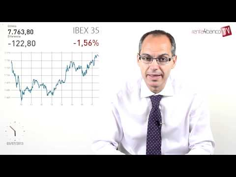 Cierre de sesión de bolsas y mercados, comentario de los gestores 03-07-13 Renta 4