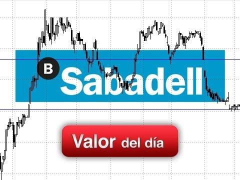 Trading de Banco Sabadell por Juan Enrique Cadiñanos en Estrategias Tv (03.07.13)