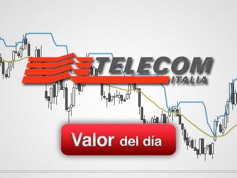 Trading en Telecom Italia por Marc Ribes en Estrategias Tv (28.08.14)
