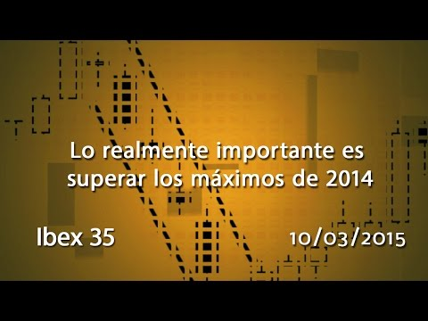 Vídeo análisis técnico Ibex35: Lo realmente importante es superar los maximos de 2014 10-03-15