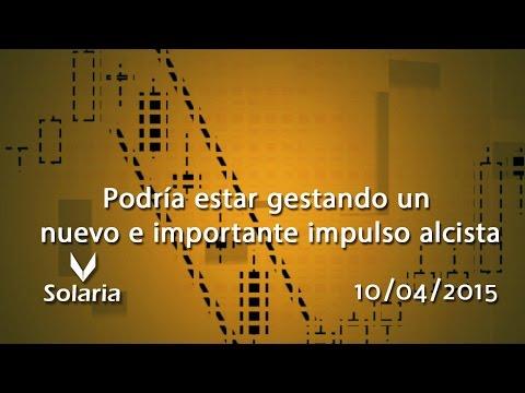 Vídeo análisis técnico Solaria: Podria estar gestando un nuevo e importante impulso alcista 10-04-15